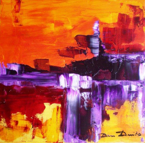 Peinture abstraite tableaux abstrait peinture au couteau la peinture le dessin mes - Peinture au couteau huile ...