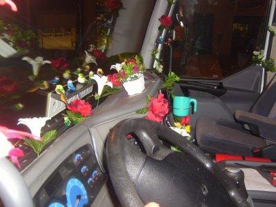 La d coration int rieure de mon camion blog de phyloulepecheur - Decoration interieur camion ...