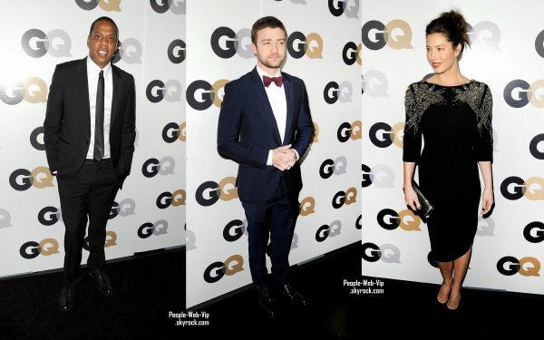 PARTY PEOPLE ! Les stars pendant le 2011 GQ Men of the Year !