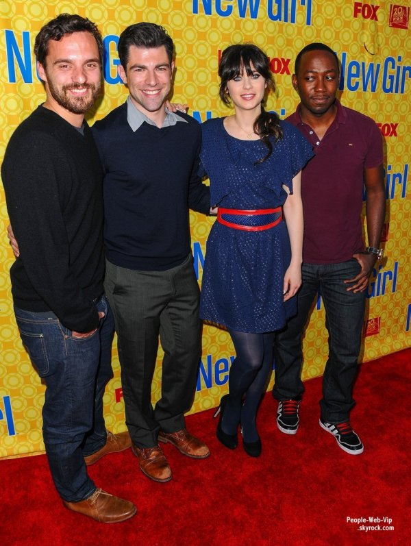 Zooey Deschanel  lors de la projection du dernier �pisode de sa s�rie New Girl au Th��tre L�onard H. Goldenson (lundi (7 mai) � North Hollywood, Californie)