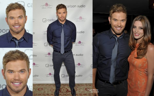 Kellan Lutz et Ashley Greeneont ont assister � la Carbon Audio's Zooka Launch Party  ( vendredi (3 Ao�t) � West Hollywood, Californie)