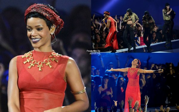 Les VMAS 2012 : Les performances en photos !