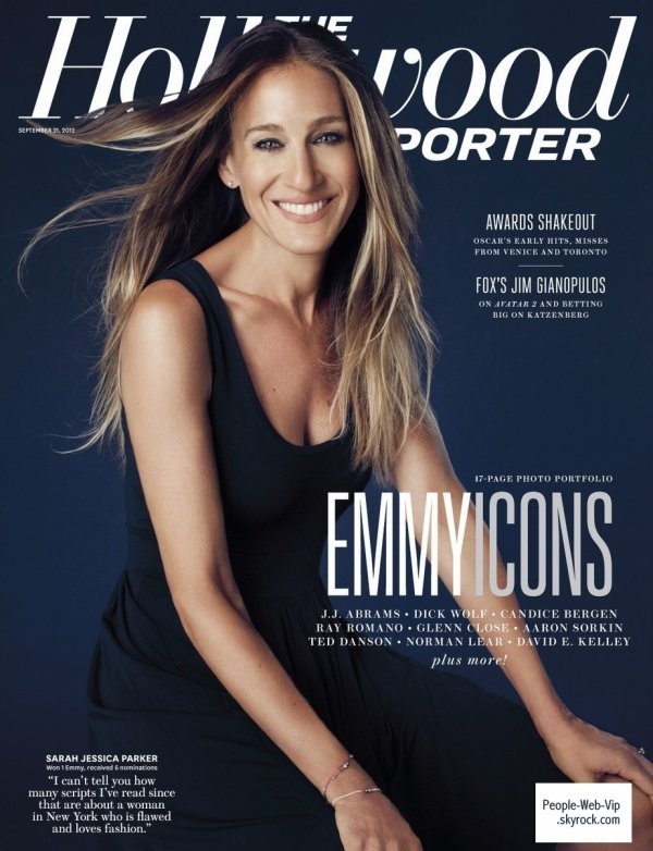   Sarah Jessica Parker Prend la pose sur la couverture du magazine &quot;The Hollywood Reporter&#8216;s &quot; 