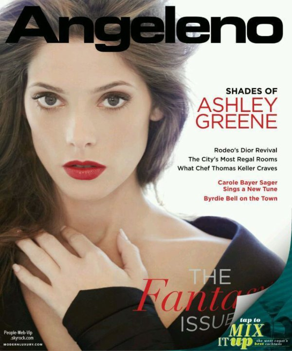  Ashley Greene En couverture du magazine &quot; Angeleno&quot;