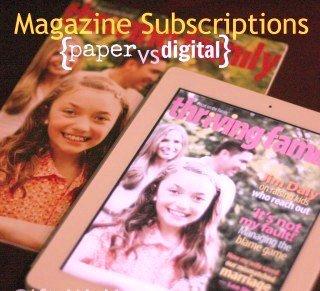 Digital Magazine VS Paper Magazine